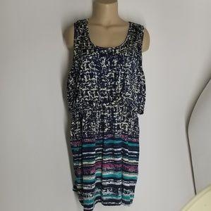 3X Tank Short Summer Dress  Plus Sz B46 L34